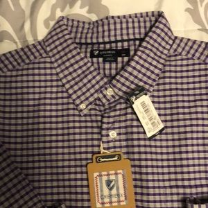 Cremieux men's button shirt